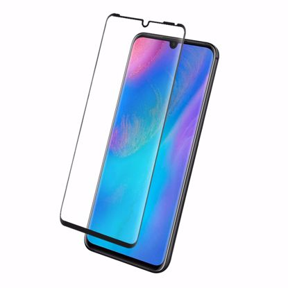 Picture of Eiger Eiger 3D GLASS Full Screen Tempered Glass Screen Protector for Huawei P30 Pro in Clear/Black