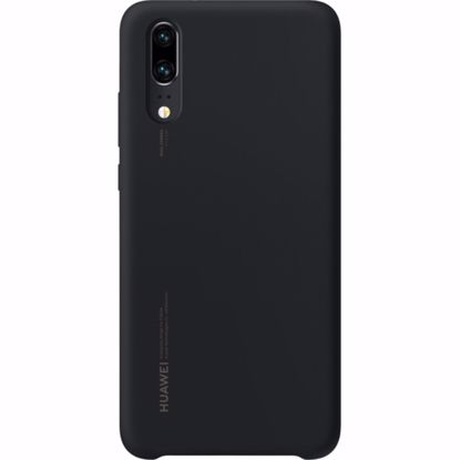 Picture of Huawei Huawei Silicone Cover Case for Huawei P20 in Black