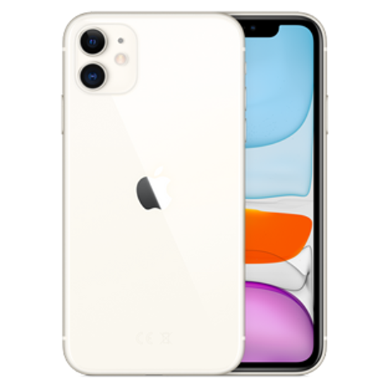 Picture of Apple iPhone 11 256GB White (MWM82B)
