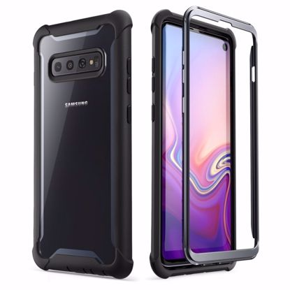 Picture of i-Blason i-Blason Ares Full Body Case with Screen Protector for Samsung Galaxy S10 in Black