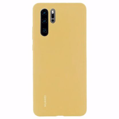 Picture of Huawei Huawei Silicone Protective Cover Case for Huawei P30 Pro in Yellow